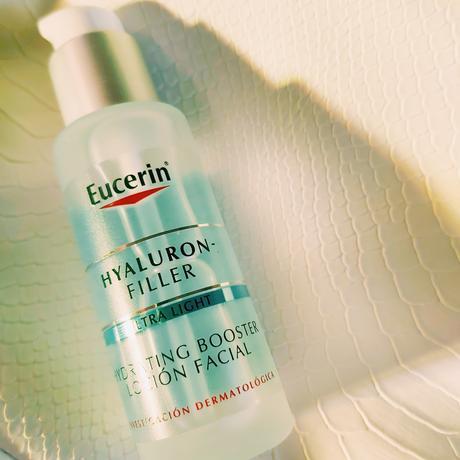 Booster Hyaluron Filler de Eucerin, piel hidratada y repulpada.