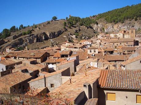 turismo de cercanía en Zaragoza, tejados de Daroca