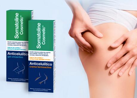 Anticelulítico Gel Crioactivo y Anticelulítico Crema Termoactiva de Somatoline Cosmetic