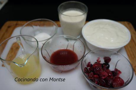 Mousse de yogur
