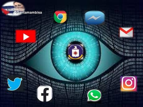 Redes sociales: el verdadero rostro de la CIA