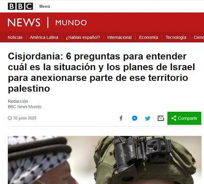 LA SITUACIÓN DE CISJORDANIA EN LA ACTUALIDAD. UN ANÁLISIS DE BBC MUNDO
