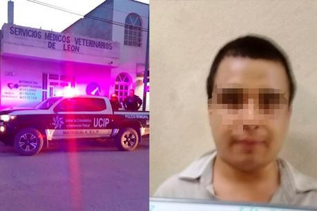 Policía de Matehuaal detiene en el acto a presunto asesino de perros
