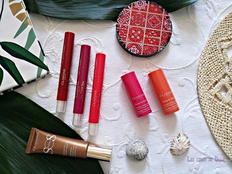 Clarins novedades colección maquillaje makeup verano summer beauty