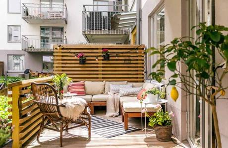 Una pequeña terraza en nuestro piso puede ser la solución...