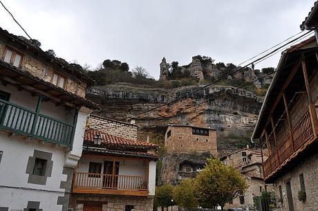 turismo de cercanía en Burgos, vistas de Orbaneja del Castillo