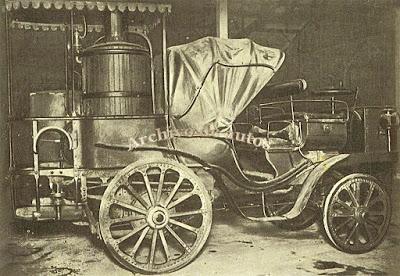 Vehículos a vapor de Amédée Bollée