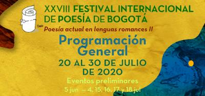 XXVIII Festival Internacional de Poesía de Bogotá