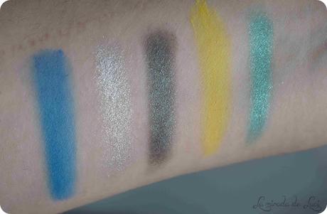 ESSENCE, paleta de sombras Disney Princess, Ariel