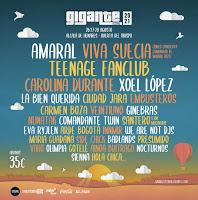 Confirmaciones Festival Gigante 2021
