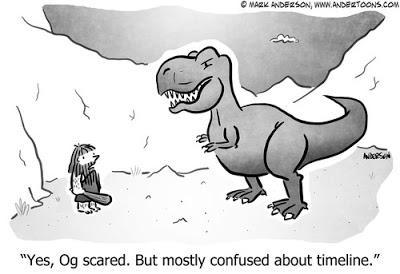 Las tiras dinosaurianas de Andertoons
