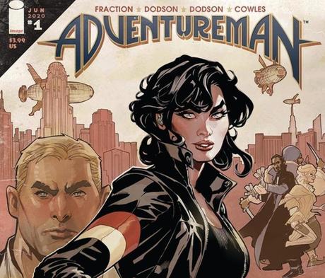 adventure man comic: otra aventura entre el bien y el mal