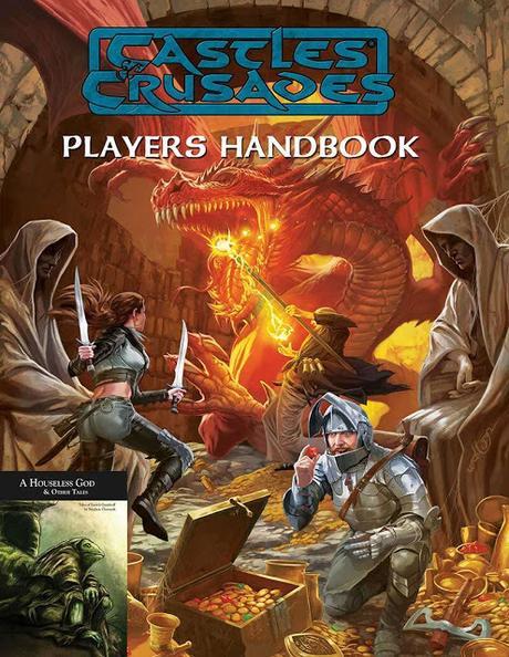 Pack digital gratuito Castles & Crusades Players Handbook & Fiction aún disponible