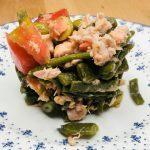 receta ensalada judias verdes