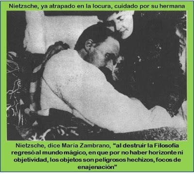 La filosofía como sustitutivo de la locura: el caso de Nietzsche