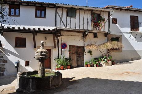 turismo de cercanía en Cáceres, casas de Cuacos de Yuste