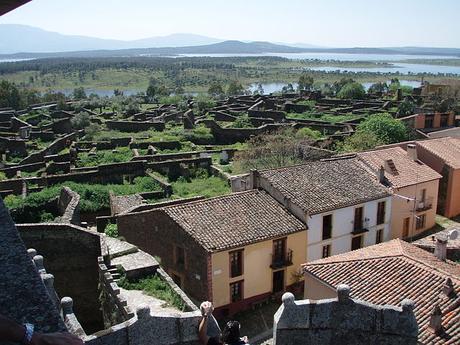 turismo de cercanía en Cáceres, vistas de Granadilla