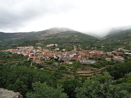 turismo de cercanía en Cáceres, vistas de Garganta La Olla