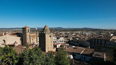 turismo de cercanía en Cáceres, vistas de Trujillo