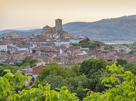 turismo de cercanía en Cáceres, vistas de Guadalupe
