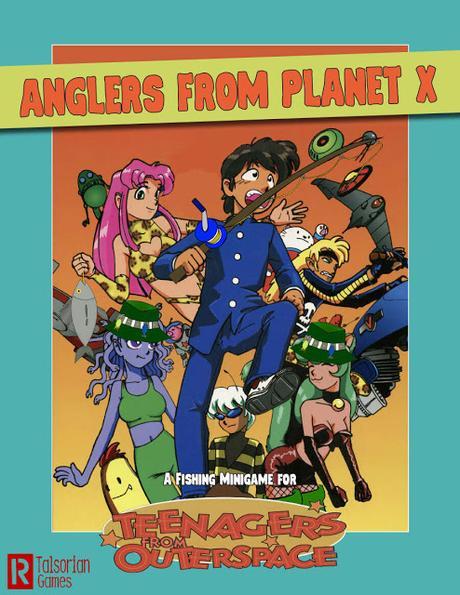 Anglers from Planet X gratis en DriveThru RPG