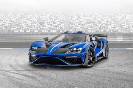 Ford GT Le Mansory: sólo tres unidades con 720 CV y aerodinámica de carreras para celebrar el 30 aniversario de Mansory