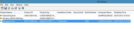Resolver problemas de activación de windows 8 cuando volvemos de w10