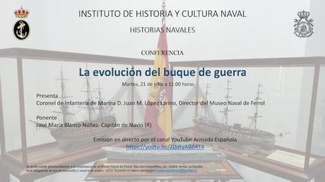 «La evolución del buque de guerra » (conferencia)