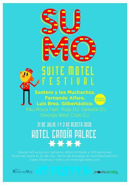 Nace Suite Motel Festival: conciertos en hoteles con alojamiento y pensión completa