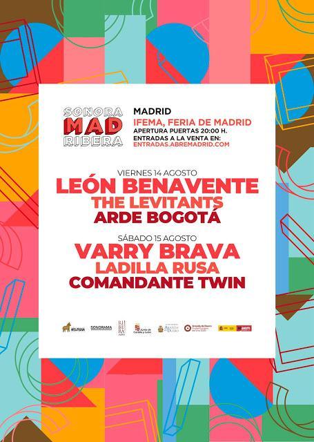 Sonorama Ribera, en agosto en IFEMA con León Benavente y Varry Brava al frente