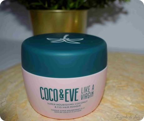 COCO & EVE, Like a Virgin, mascarilla capilar nutritiva de coco e higo