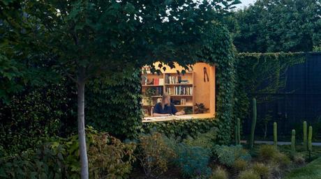 hay nuevos espacios de trabajo en casa como este, si tienes jardín.
