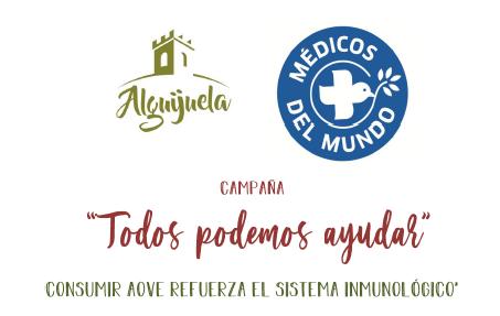 La almazara Alguijuela inicia una campaña solidaria con Médicos del Mundo «Todos podemos ayudar»