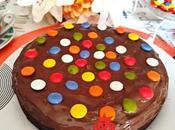 Tarta Brownie Lacasitos Nutella
