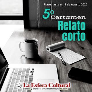 V Certamen de RELATOS CORTOS La Esfera Cultural