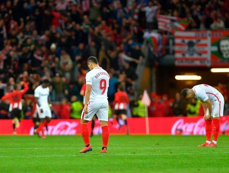 Precedentes ligueros del Sevilla FC en San Mamés