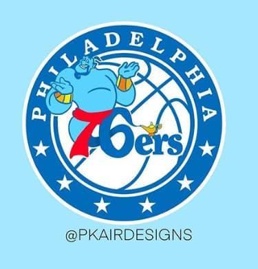 Los logos de la NBA diseñados para Disney