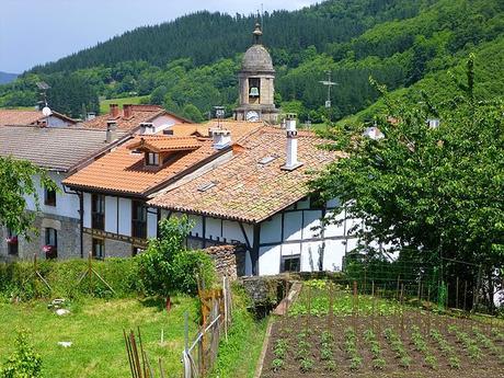 turismo de cercanía en Guipúzcoa, casas de Leintz Gatzaga