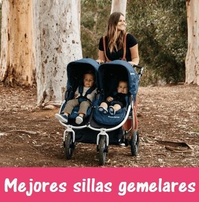 consejos comprar silla de paseo gemelar o coche para gemelos