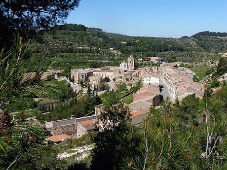 turismo de cercanía en Lleida, vistas de Vallbona de les Monges