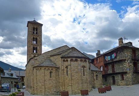 turismo de cercanía en Lleida, iglesia de Taüll