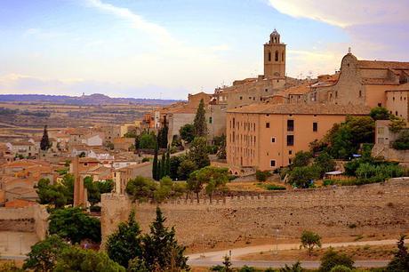turismo de cercanía en Lleida, vistas de Cervera