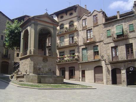 turismo de cercanía en Lleida, plaza de Solsona