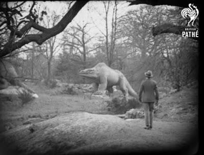 Los dinosaurios de Crystal Palace en la cultura popular