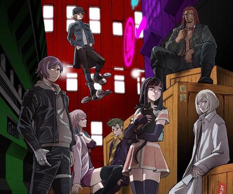Screenshot_229 akudama drive trailer - se estrena una adaptación a manga QUEDARSE EN CASA