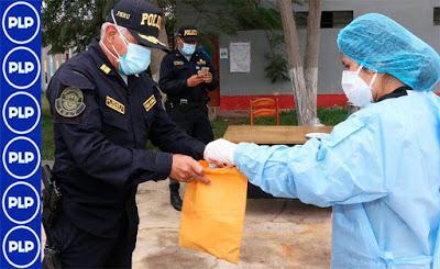 Coronavirus: APLICAN DOSIS DE IVERMECTINA  A POLICÍAS DE HUACHO