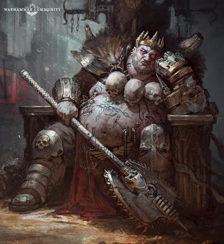 Resumen de actividad de Warhammer Community de dos días