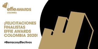 Conoce los finalistas Effie Awards Colombia 2020