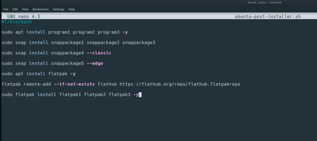 Cómo crear tu propio script de post-instalación para Ubuntu
