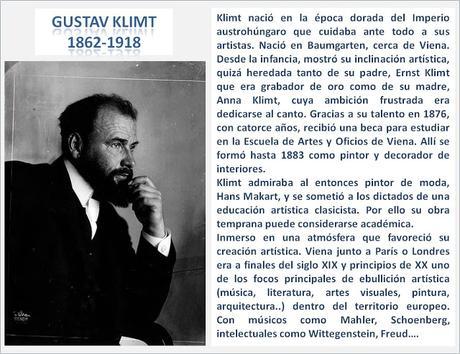 GUSTAV KLIMT, HACIA UN ARTE NUEVO